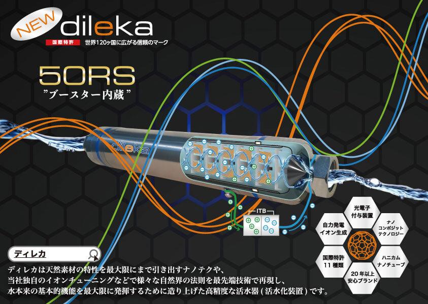 制作実績|紙媒体広告・東京都 株式会社TAMURA様 活水器ディレカフライヤーデザイン日本語版表